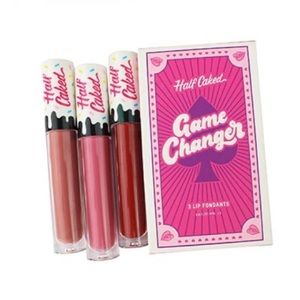 Half Caked Game Changer Lip Trio NWT